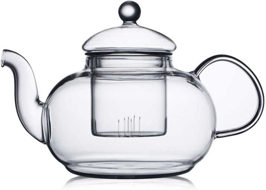 CnGlass Glass Tea Kettle