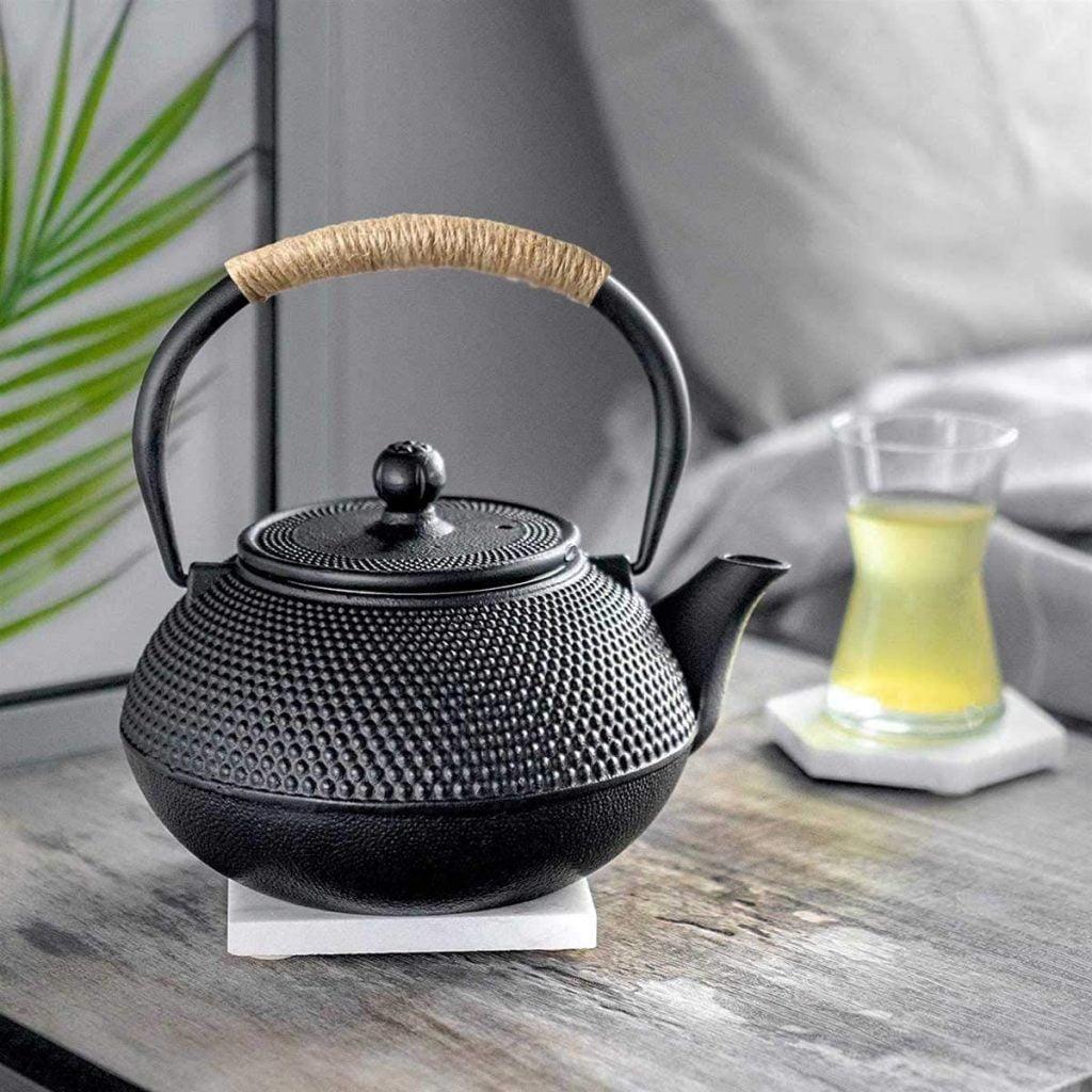 Hwagui Japanese teapot cast iron