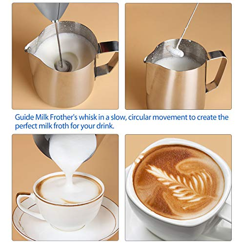 SimpleTaste Milk Frother 3 min