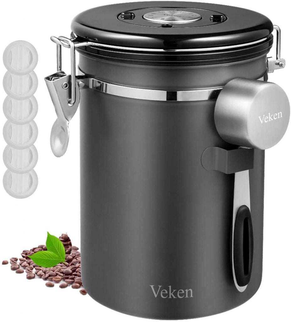 Veken Kitchen Coffee Canister 500g