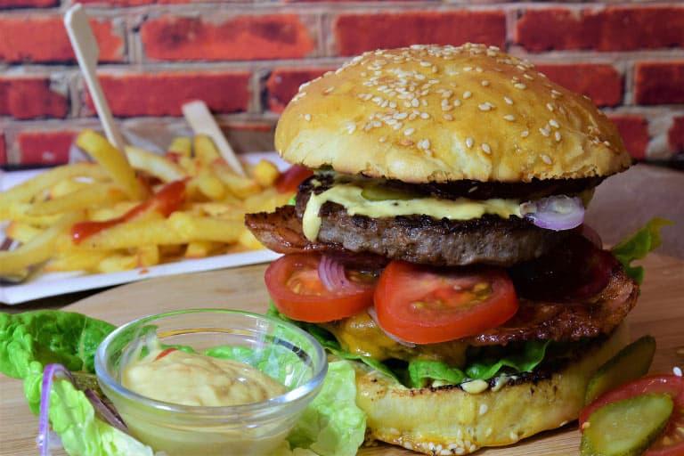 burger press material