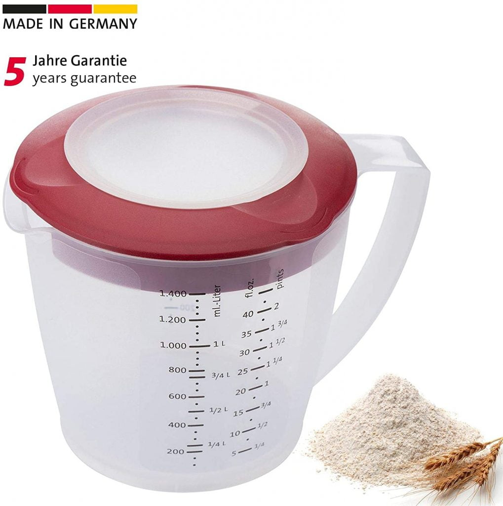 westmark best measuring beaker with a spray guard